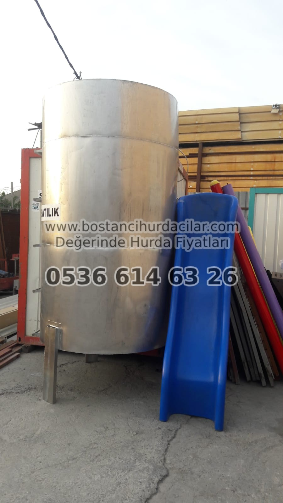 Krom Su Depo Hurdası Alımı - 0536 - 614 - 6326